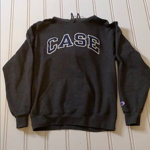 ❤️Champion - Case Western Gray Sweater Size Med ❤️